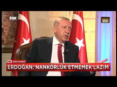 Cumhurbaşkanı Erdoğan önce dinledi sonra Nankörlük Yapmamak Lazım dedi
