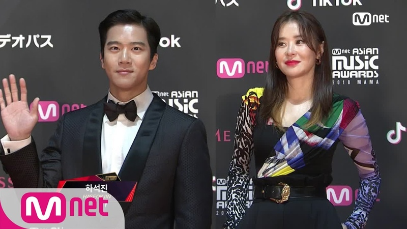 Red Carpet with Ha Seok Jin Choi Gang Hee│2018 MAMA FANS CHOICE in JAPAN 181212