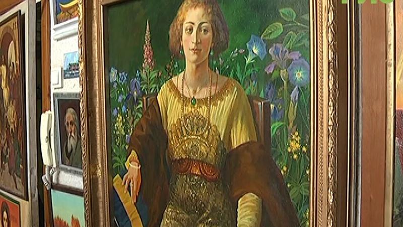 Рудольф Баранов открывает галерею во Владимирской области