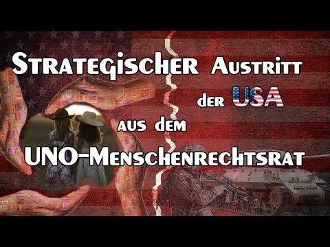 Strategischer Austritt der USA aus dem UNO-Menschenrechtsrat | 22.06.2018 | www.kla.tv/12617