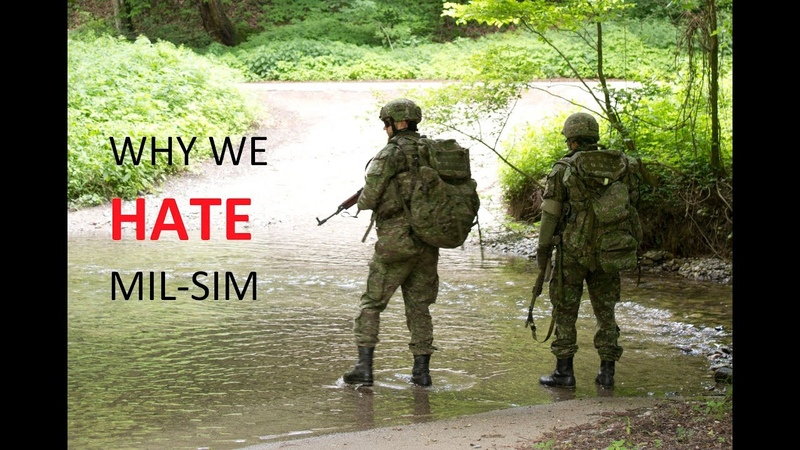 Why soldiers HATE airsoft and MIL-SIM