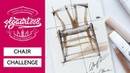 ✏️CHAIR CHALLENGE: how to draw Hans Wegner's Wishbone chair. Episode 2