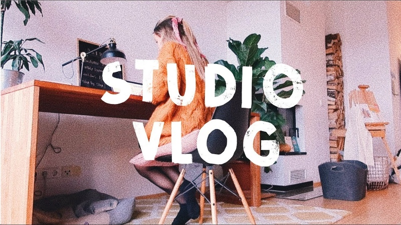 VLOG 13 | Packing Shop Orders, Mini Art Supply Haul Painting