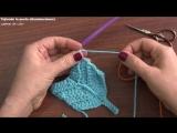 Plumas reversibles a crochet - English subtitles_ Crochet reversible feathers _