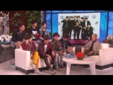 [RUS SUB][25.05.18] BTS @ The Ellen Show