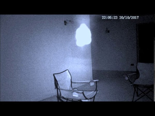 Weird Luminous Object filmed by a security camera in Liverpool, UK