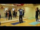 Оздоровительные упражнения массаж с помощью палки Фрагмент мастер класса Строганова О П