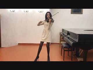 Natalia Zinoveva - Полонез Огинского (violin)