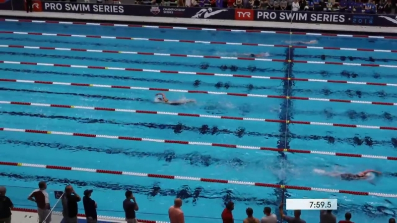 Womens 1500 Freestyle Heat 1 - 2018 TYR Pro Swim Series