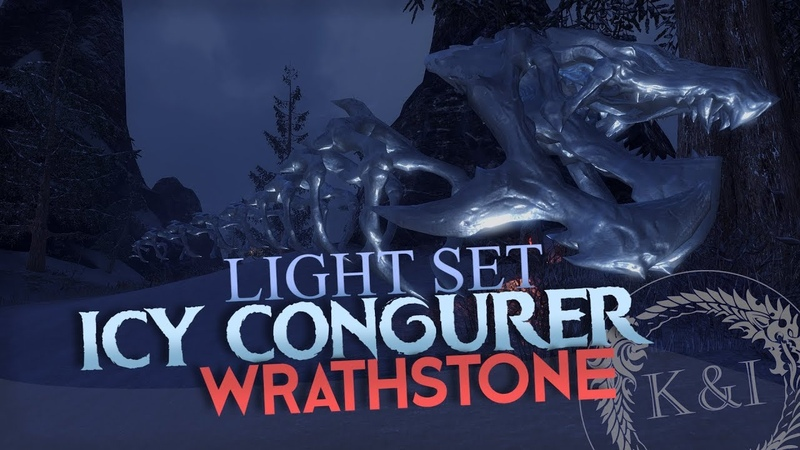 ESO Icy Conjurer Light Set | Wrathstone (PTS)