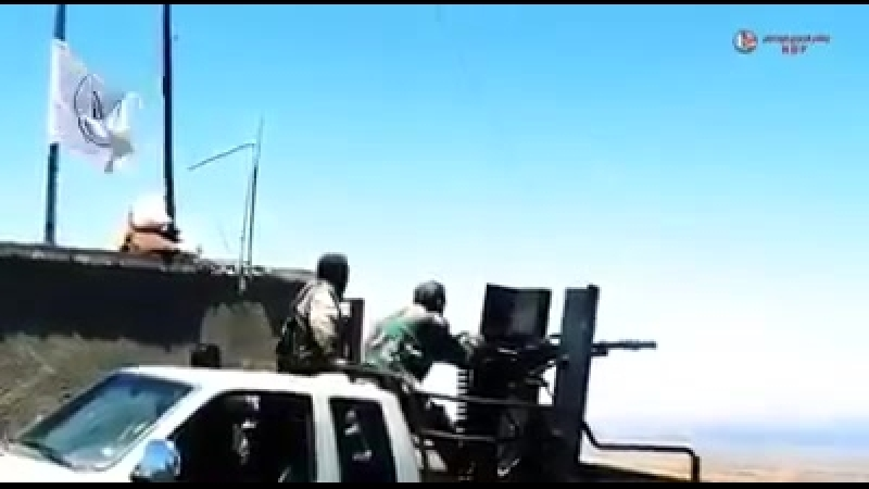 Бои САА с ИГ на юго-востоке Сирии