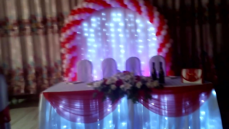 Свадебная арка.