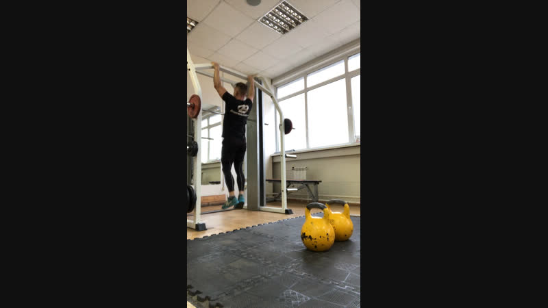 Clean KBstrict pull-ups