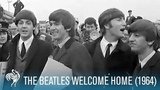The Beatles Welcome Home to England (1964) British Path