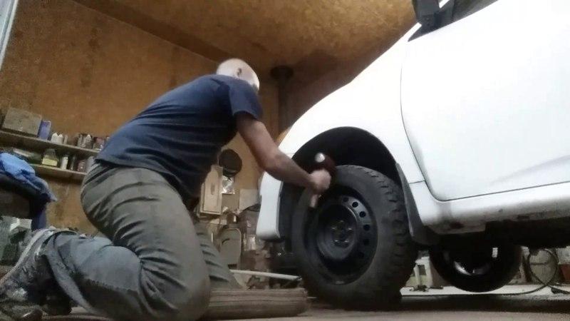 Décoller roue de voiture