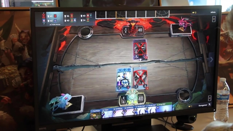 9 minutes of Artifact Gameplay - The new game from VALVE