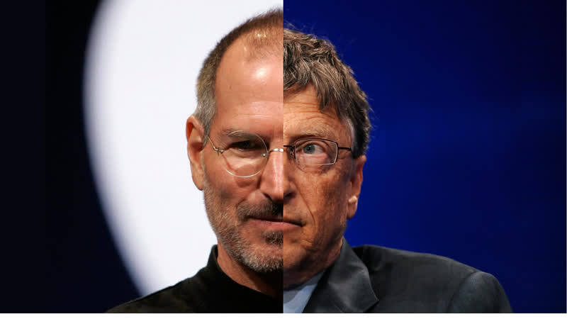 Steve Jobs vs Bill Gates. Epic Rap Battles of History Season 2.