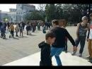 Брейк-данс на площади г. Туапсе