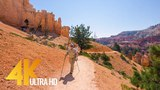 Amazing Bryce Canyon Virtual Hike - 4K Footage for Fitness EquipmentTraining Simulators - 1.5 HRS
