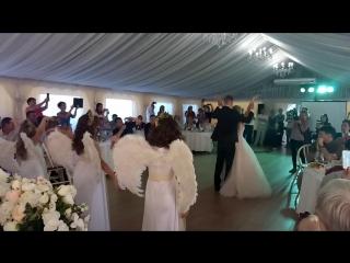 Первый танец молодых. Свадьба Леонида и Марии Белозерских. Ведущая Марина Сумина