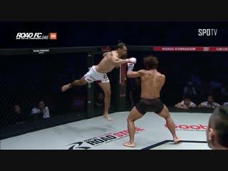 Мичел Перейра - один из самых нестандартных бойцов