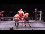 Jun Kasai, Tomoya Hirata vs. Masao Inoue, Tamon Honda (Toshiaki Kawada Produce - Holy War Vol. 2)