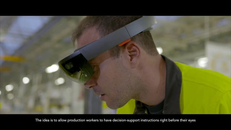 Mixed Reality on the road to industry 4.0