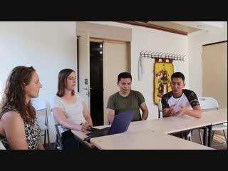 Интервью для студентов Техасского университета
