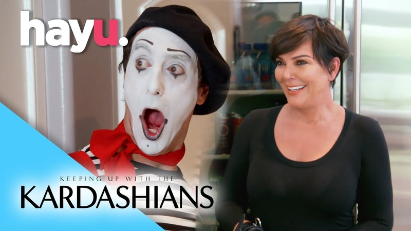 Kris Handcuffed to a Mime! | Keeping Up With The Kardashians