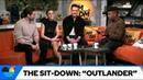 Outlander Cast - AM 2 DM - Sam Heughan, Sophie Skelton, and Rik Rankin with Saeed Jones