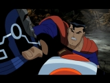 Лига Справедливости Супермен Против Дарк Сайда Скрытая Сила Супермена