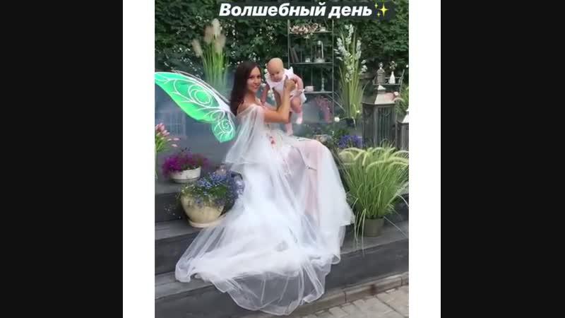 Девочки, для всех кто запрашивал фото и видио платья в полный рост 😊❤️ Оно чудесное 😋 И замечательно подходит для будущих мамоче