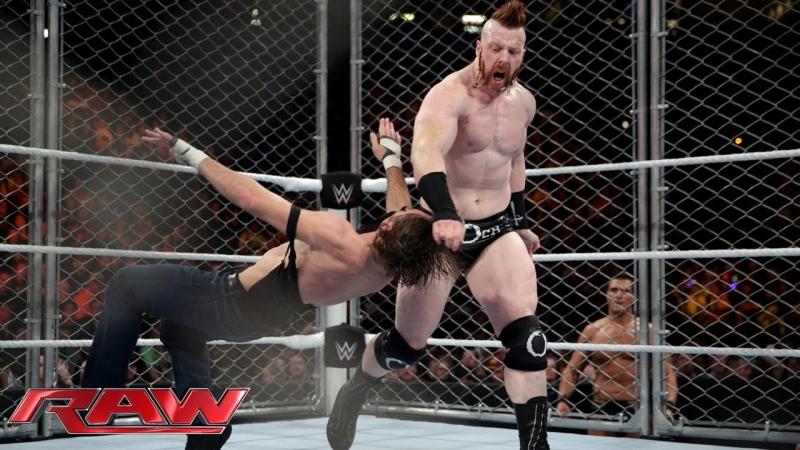Dean Ambrose vs Sheamus (21.12.15)
