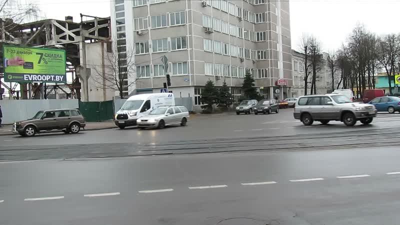 Путепровод Металлистов в дневное время справляется с транспортными потоками репортаж Витебского курьера