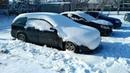 Мариуполь дождался снега