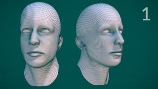 CGC Classic: Edge Modeling a Human Head - Pt.1 (Blender 2.4)