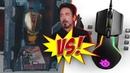 Игровая мышка ЖЕЛЕЗНЫЙ ЧЕЛОВЕК против SteelSeries Rival 600