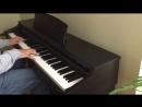 Coldplay clocks piano cover