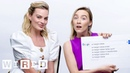 Margot Robbie & Saoirse Ronan Answer the Web's Most Searched Questions | WIRED