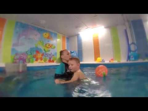 Одна из моих тренировок по плаванию