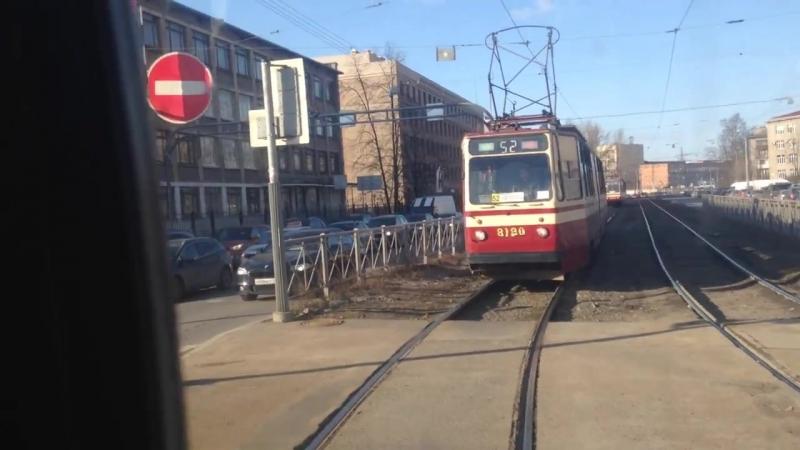 Троллейбус, маршрут №48 ЗиУ-682В [В00] б.1857 (16.03.2018) Санкт-Петербург