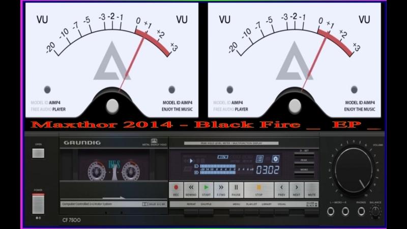 Maxthor- 2014 _ Black Fire ( EP ) by Grundig CF 7500 sound PRO
