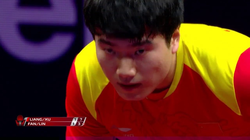 Xu XinLIang Jingkun vs Fan ZhendongLin Gaoyuan | 2019 Hungarian Open Highlights (Final)