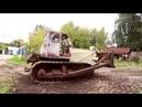 Трактор ДТ 75 Ретро Тест драйв Обзор История создания Pro Автомобили СССР Иван Зенк
