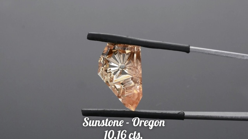 Stunning Custom Oregon Sunstone Gemstone from KGC