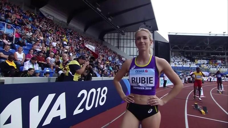 Women's 400m Athletics Continental Cup Day 1 Ostrava 2018