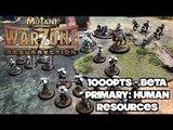 Mutant Chronicles - Warzone Resurrection Battle Report - Ep 03 - Mishima vs. Bauhaus
