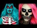 Лучший макияж на Хэллоуина ТОП 5 простой макияж на хеллоуин 6