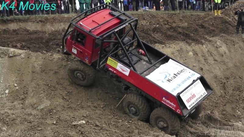 6x6 Tatra truck in Truck trial _ Milovice 2017 _ participant no. 427
