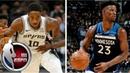 DeMar DeRozan outduels Jimmy Butler in Timberwolves vs. Spurs NBA Highlights